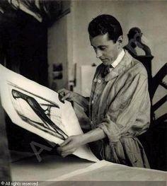 Bernard Buffet - french expressionist painter