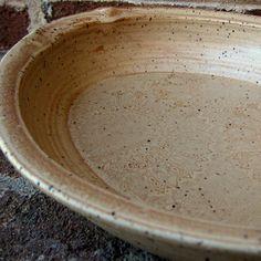 Handmade large oval sunflower stoneware casserole dish
