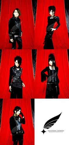 exist†trace photo sets @ Archangel Diamond! #existtrace #jrock #visualkei #japan #girlsrock