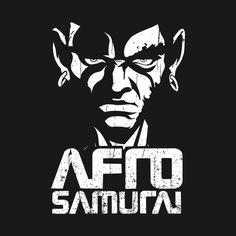 Check out this awesome 'SAMURAI+AFRO' design on @TeePublic! Afro Samurai, Samurai Anime, Dope Cartoon Art, Dope Cartoons, Samurai Wallpaper, Manga Tattoo, Samurai Artwork, Pop Art Wallpaper, Black Comics