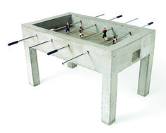 panna_foosball_jurjen_semeijn_02.jpg Thoroughly urban: Jurjen Semeijn's Panna is a raw concrete foosball table where the game is either played one-on-one or two against two.