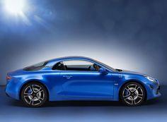 french brand alpine returns with compact A110 sports car  www.designboom.com