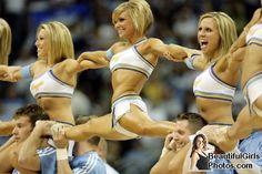 Dancers for the Denver Nuggets