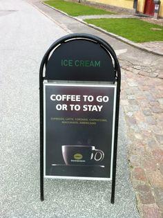 Kaffe på Kronborg - Vi har åbent 7 dage om ugen, god velsmagende kaffe - og tilmed friskristet