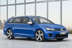 Official: Volkswagen Golf R Variant is the hotter longroof we've been dreaming of