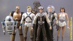 Retro Star Wars Action Figures.