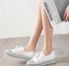 T-JULY Autumn Women Casual Flat Loafers Fur Creepers Zapatillas Espadrilles Shoes