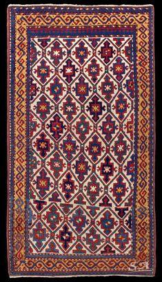 Kazak, Caucaso sud-occidentale, seconda metà del XIX secolo, lana su lana, 186 x…