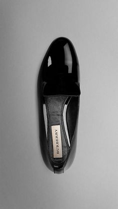 Patent Leather Loafers | Burberry