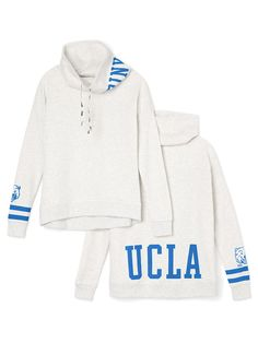 UCLA Cowl-Neck Pullover - PINK - Victoria's Secret