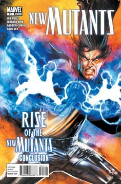 NEW MUTANTS # 21 (Vol II) 2011. MARVEL COMICS. WRITER: Zeb Wells. ARTIST: Dave Wiikins. COVER PRICE: $2.99. CHARACTER: Legion. NOW PRICE: $3.50.
