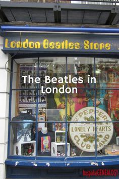 The Beatles In London | Sites in London associated with the Beatles | bespokegenealogy.com
