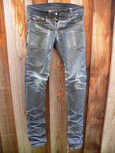 worn selfedge x imperial denim jeans