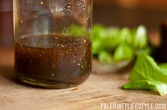 Balsamic vinegar salad dressing. This one has dijon mustard- need to try it.