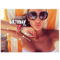 #RamonaAmodeo Ramona Amodeo: It's My Birthday with Lucky bracelets Le gioie di Ramona  +26 #happybdaytome #relax #time #egypt #marsamatrouh #carolsbeaurivage #summertime #luckybracelets #legioiediramona #ramonaamodeo #fashiondesigner #coolhunter #picoftheday #party #bestoftheday #beautiful #accessories
