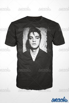 Elvis Presley King of Rock 1950/'s Icon Barbie King Junior Front Print  T-Shirt