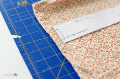Measuring fabric for knot headband