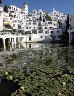 Nerja, Spain. I stay here every year, the villas look out to the sea, it's just perfect!