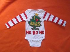 The Grinch baby Ugly Christmas Sweater Photo Prop by MotherFrakers, $40.00