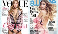 8 OF GIGI HADID'S MOST STYLISH MAGAZINE COVERS