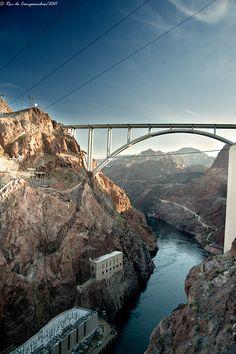 Colorado River Bridge at Hoover Dam