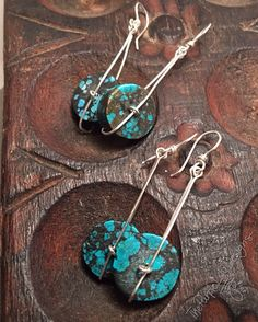 Turquoise on the Move earrings Your Choice by ThePurpleLilyDesigns
