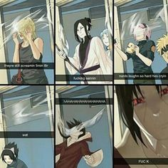 Naruto Pranks ~ too great for their own good haha