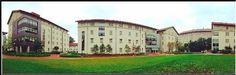 A #panoramic view of #Emory's #Freshmen #Quad.  #HamiltonHolmes #LongstreetMeans #Raoul