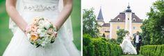 Linse 2 - Wedding Schloss Mühldorf - nice bouquet. One Shoulder Wedding Dress, Castle, Wedding Dresses, Fashion, Bride Dresses, Moda, Bridal Wedding Dresses, Fashion Styles, Weeding Dresses