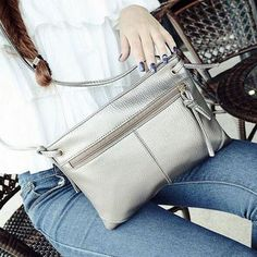 New Fashion Zipper Women Bag Soft PU Leather Women Messenger Bags Brand Designer Handbags Crossbody Ladies Shoulder Bags