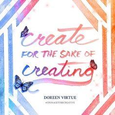Thank you, @doreenvirtue! #higherlearning #higherconsciousness #lifeisgood #creative #creativity #affirmation