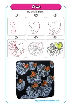 Hearts - pattern-collections.com