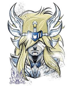 Manga Anime, Anime Art, Knights Of The Zodiac, Cool Drawings, Canvas, Concept Art, Saints, Digital Art, Nerd