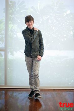 "Greyson Chance photo shoot for ""True Music"" Magazine - Taiwan 2012"