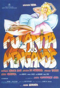 "MP048. ""Fulanita y sus Menganos"" Spanish Movie poster by Iván Zulueta (Pedro Lazaga 1976) / #Movieposter"