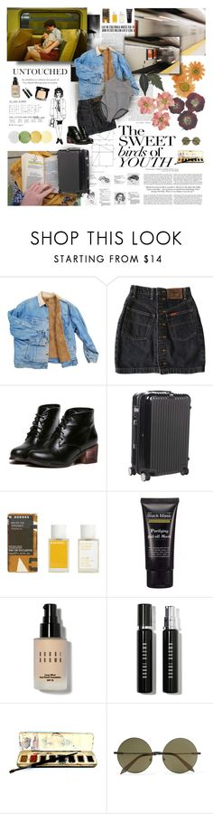 """""""Untitled #147"""" by whiteshvdows ❤ liked on Polyvore featuring Petit Bateau, Rimowa, Korres, Bobbi Brown Cosmetics, Chanel and Victoria Beckham"""