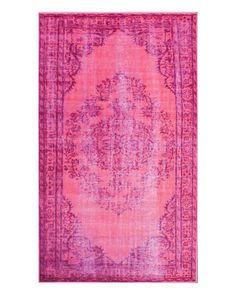 Pink Overdyed Moroccan Rug