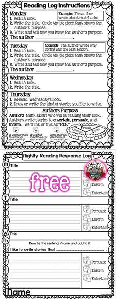 Homework K-3. Reading, writing, comprehension homework. Parent Helper Piece. Free in the download.