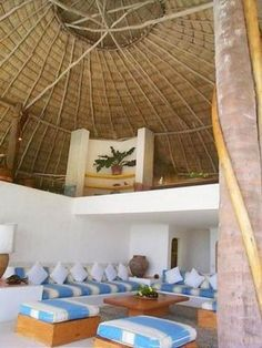 photo beauty: Good Place For Honeymoon(Costa Careyes) Mexican Interior Design, Mexican Designs, Innovative Architecture, Amazing Architecture, Best Places To Honeymoon, Hawaii Homes, Tropical Houses, Humble Abode, Inspired Homes