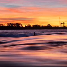 It's Canada in the dead of winter so cold it hurts and surfers have been suiting up from sunrise 'til sunset on the St. Lawrence River. Let that sink in for a moment. Photo: @jeremylechatelier #Surfer #SurferPhotos by surfer_magazine