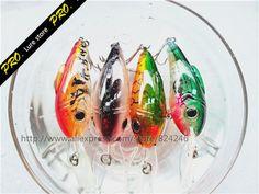 Free shipping 5pcs/set fishing lure LED fishing lure tackle fishing flash crank lure baits fishing lure bait led cranks