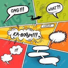 stripverhaal tekstballonnen - Google zoeken