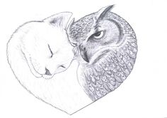 The Owl and the Pussycat...in Love  {THE TIRED FOX}