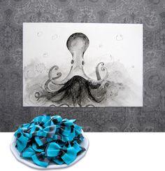 Squid Ink Sketch