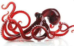 etsy glass octopus