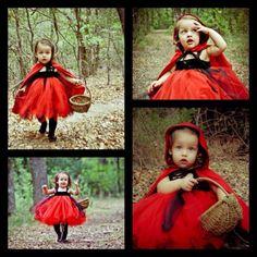 Little Red Riding Hood toddler costume Tamara Tyriver Toddler Halloween Costumes, Halloween Kostüm, Baby Costumes, Family Halloween, Holidays Halloween, Kids Witch Costume, Baby Kostüm, My Baby Girl, Baby Tutu