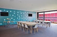 Boardroom at Wembley Stadium - designed and built by Firecracker Works March 2014March 2014