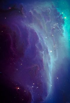 Over 2 light years across and over 2000 light years away from Earth: The Ghost Nebula (Hubble)