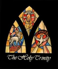 The Holy Trinity Window Catholic Art, Religious Art, Roman Catholic, Catholic Theology, Christian Symbols, Christian Art, Stained Glass Church, Stained Glass Windows, Jesus Pictures