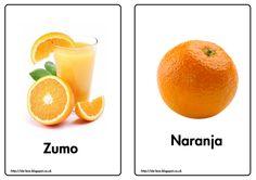 Zumo y naranja